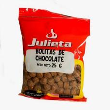 BOLITAS DE CHOC JULIETA X 25 GRS