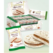 ALFAJOR DE ARROZ LULEMUU INTEGRAL X 6 UN