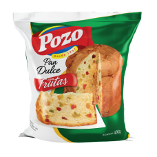 PAN DULCE POZO CON FRUTAS X 400 GRS