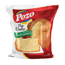PAN DULCE POZO SIN FRUTAS X 400 GRS