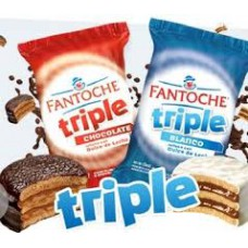 ALF. FANTOCHE TRIPLE X 24 U. CHOCOLATE