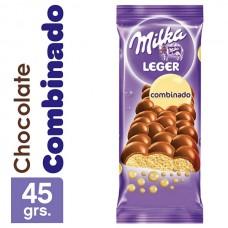 CHOC. MILKA LEGER COMBINADO X 45 G